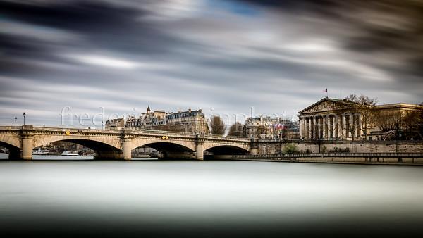 Palais-Bourbon at Paris