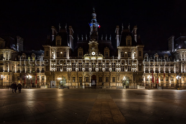 City hall of Paris