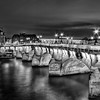"Lights on ""Pont Neuf"" in B/W"