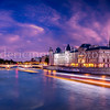 Blue Hour on the Conciergerie in Paris
