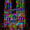 Illuminations of the  Cathedral  Notre-Dame of Paris ...