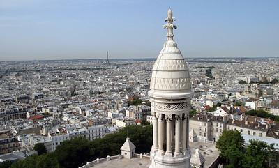 Basilique du Sacré-Cœur, Paris - view from the dome.