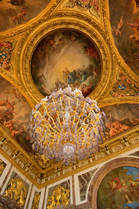 Chandelier in Versailles