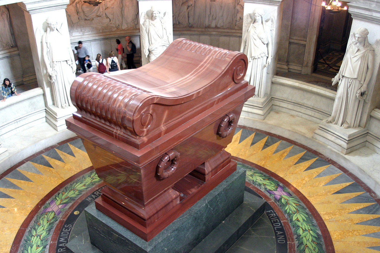 The Musée de l'Armée is a museum at Les Invalides in Paris, France. Originally built as a hospital and home for disabled soldiers by Louis XIV, it now houses the Tomb of Napoleon (shown in pic) and the museum of the Army of France.
