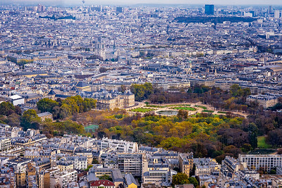 Paris | aerial panorama