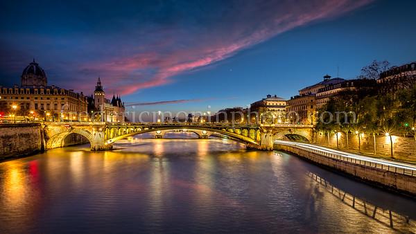Seine by night ...