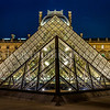 Pyramid of The Louvre at Paris