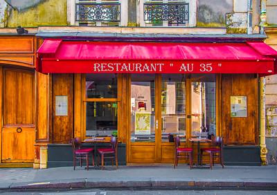 'Au 35,' Paris 2016.