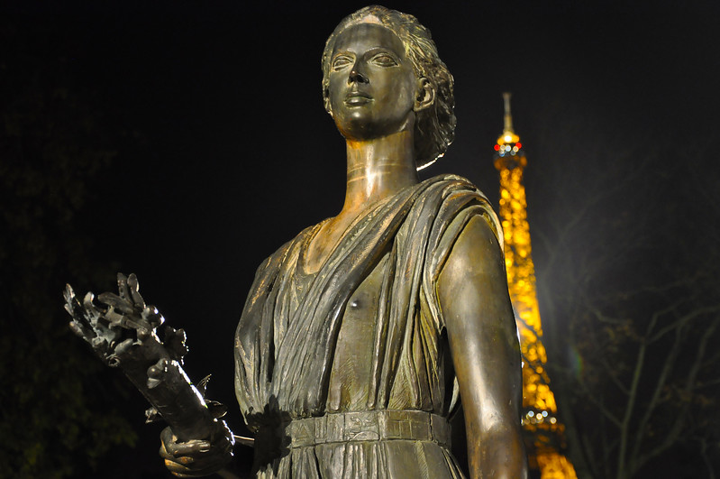 Monument des Droits de l'Homme. 2016.