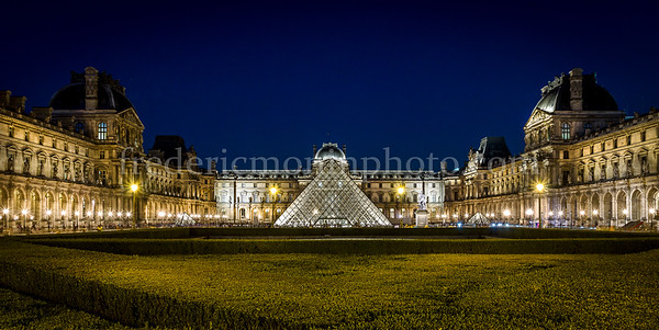 Museum of the Louvre at Paris