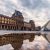 The Lourve Museum in Paris.