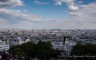 Montmartre into the city