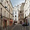 A street in Belleville, Paris.