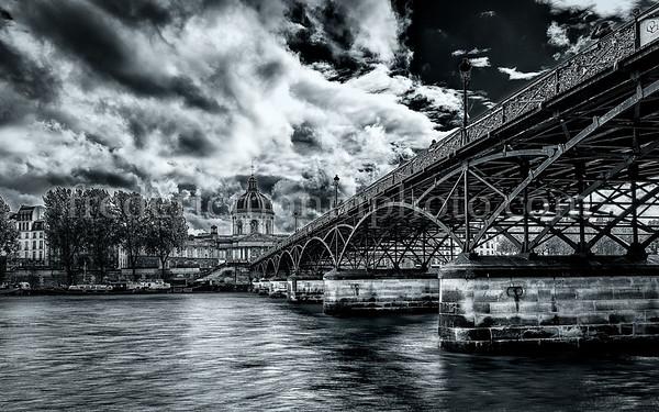 """Pont des Arts"" in Paris"