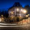 Lights on Montmartre at Paris