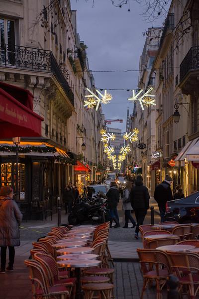 Christmas decorations, Le Marais