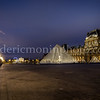 Blue Hour on the louvre at Paris