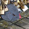 Love locks, Pont des Artes, Paris, 2013.