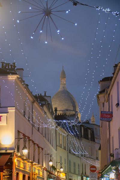 Sacre Coeur from Place du Tertre