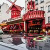 Moulin Rouge in Paris.