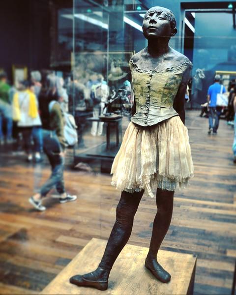 """Little Dancer Aged Fourteen"" by Edgar Degas at the Musée d'Orsay. 2016."