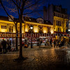Tertre square at the Montmartre district in Paris
