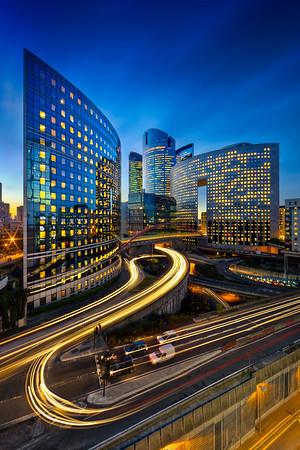 Paris, la Défense business district