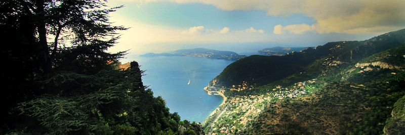 View from Eze in Color