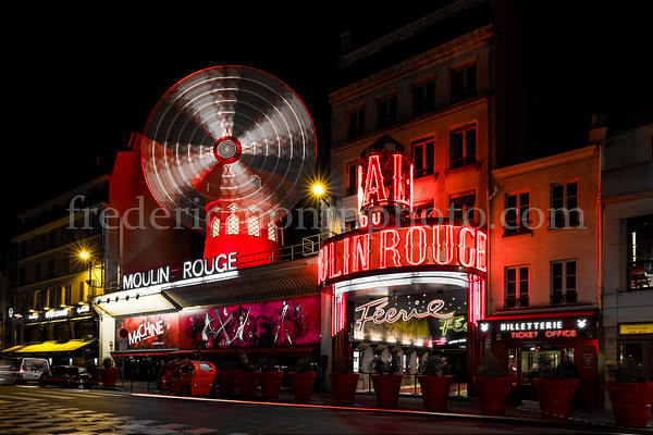 Cabaret of the Moulin Rouge