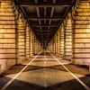 Under the Bercy bridge at Paris..