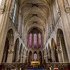 Inside of St-Germain-l'Auxerrois church at Paris