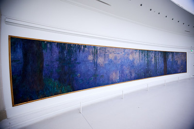 Monet's water lilly room
