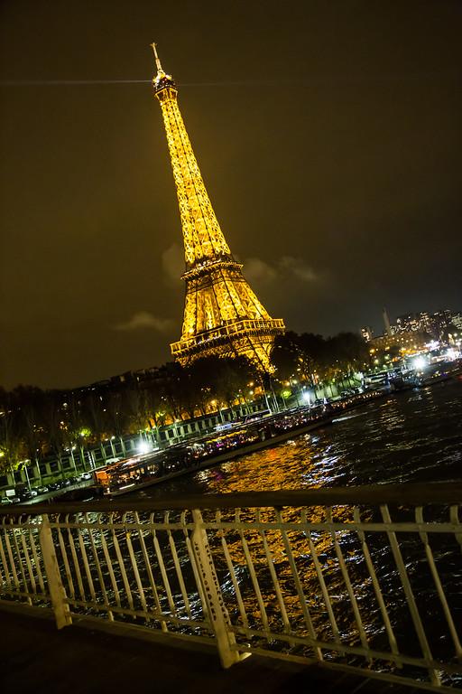 Eiffel Tower from Bridge