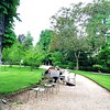 Artists in the Jardin Luxembourg
