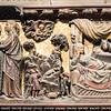 Choir engraving-Visitation, Shepherds, Nativity