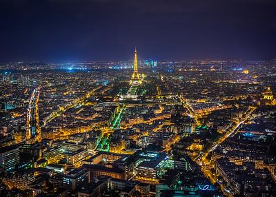 © Tour Eiffel-illuminations Pierre Bideau