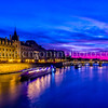 Blue hour on Conciergerie ...