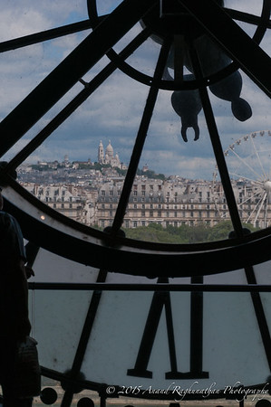 Musée d'Orsay vista point