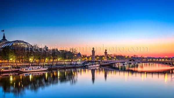 Blue Hour on Pont Alexandre III