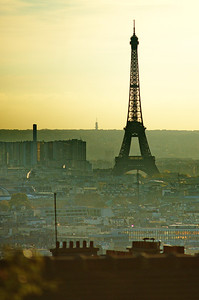 Eiffel Tower from Monmartre