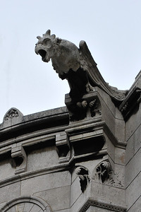 Gargoyle on the Sacre-Coeur Basillica
