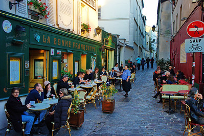 This cafe was and is an artists favorite in Montmartre.