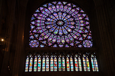 Rose window south