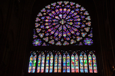 Rose window north
