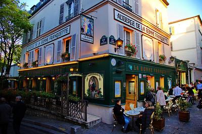 La Bonne Franquette in Montmartre