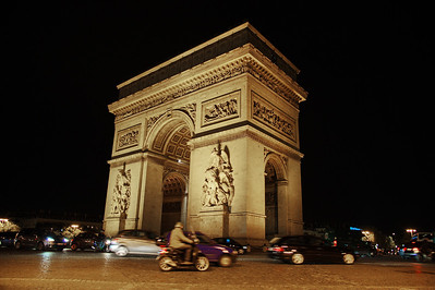 Paris:  Arc de Triomph