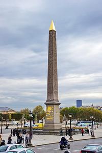 Place de la Concorde and the Luxor Obelisk