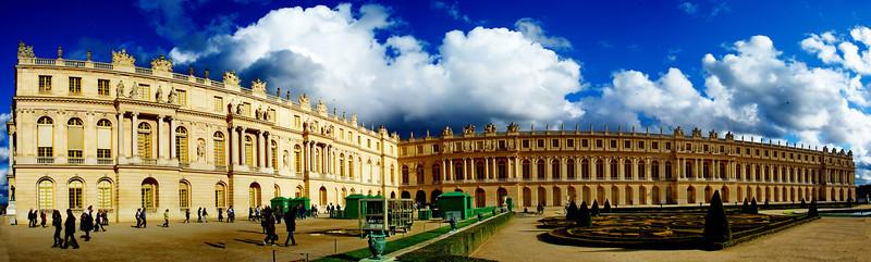 Versailles' back yard