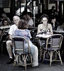 Old Man/Young Woman, Paris, France
