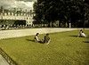 Sunbathers, Place de Vosges, Paris, France